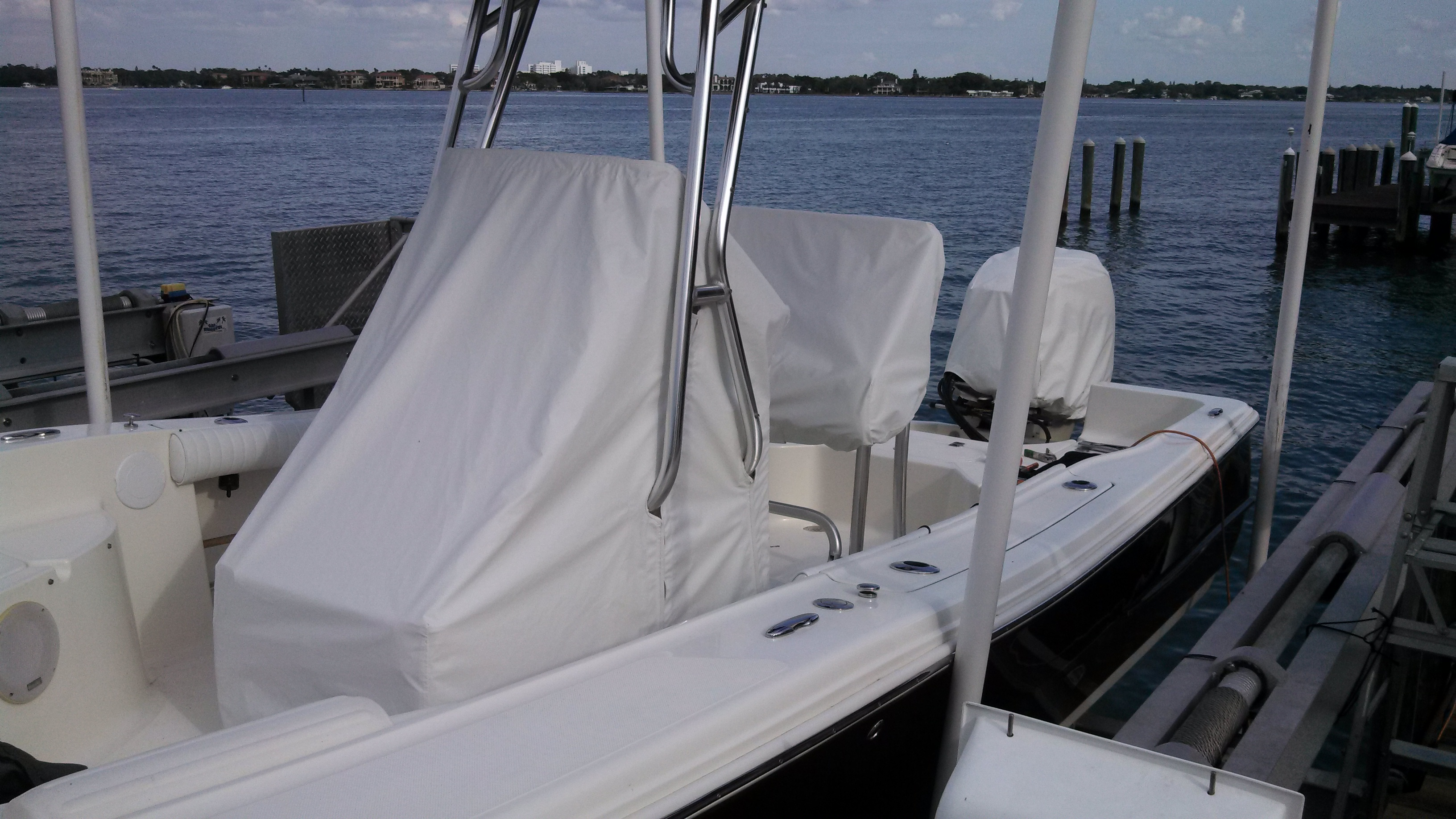 Pictures of Center Console Boat Covers