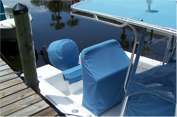 Canvas Seat Covers >> Better Boat Covers